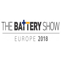 DOW AAS will be exhibiting at 'The Battery Show Europe 2018', 15.-17. May