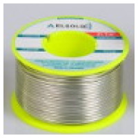 Cored solder wires