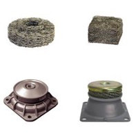 Metal cushions & Vibration insulation