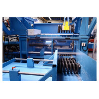 500kN Universal in-line coil spring test- and setting machine